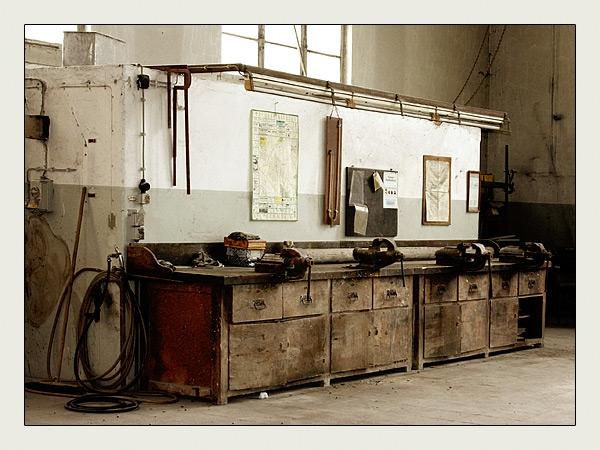 Alte Werkbank alte weberei werkbank